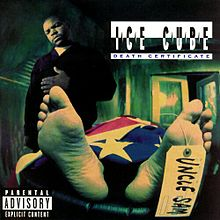 220px-Ice_Cube-Death_Certificate_(album_cover)